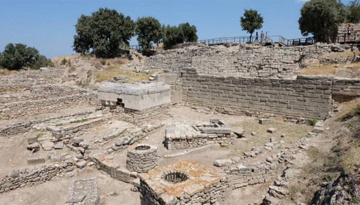 Ancient city Troy