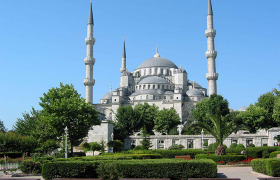 blue mosque old city