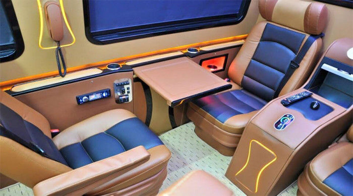 Mercedes Sprinter special edition Leather seats
